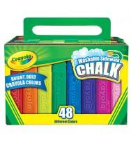 Chalk Sidewalk washable 48 pack