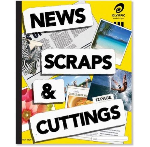 Scrap book olympic 929 news/cutting 72pg