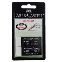 Erasers faber 7085-20 pk2