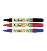 Marker artline 70 bullet black