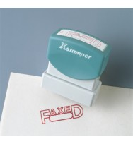 X-stamper 1211 'Posted' with Date Red