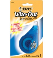 Correction Tape Bic White-Out Bx 6