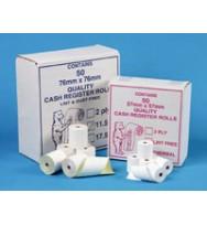 Adding machine rolls 37x70 low lint - box of 50