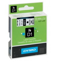 Dymo D1 12mmx7m blk/clr