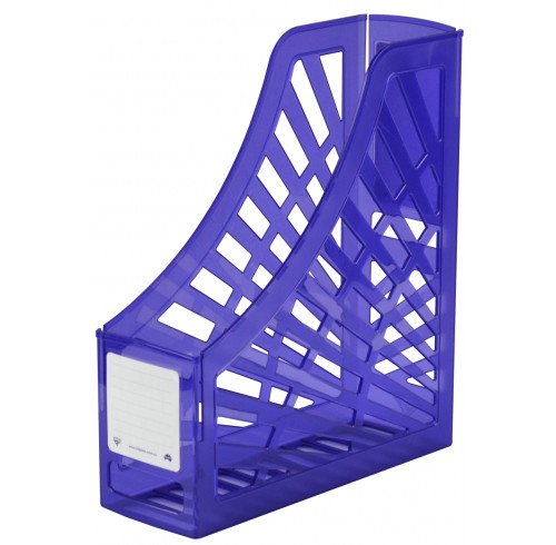 Magazine Holder Italplast Translucent Purple