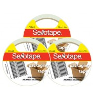 Tape packaging sello 48mmx50m clear