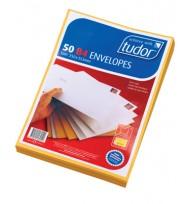 B4 Envelope 353x250mm Tuff Tan Peel/seal - Pk50
