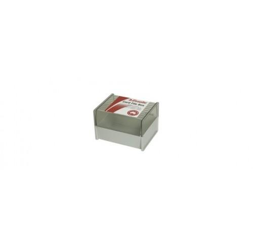 System card box sws esselte 5x3 dove grey