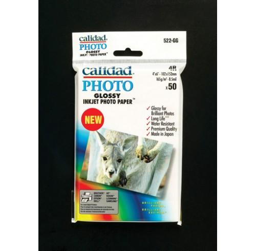 Paper photo calidad a4 super gloss 501-pg i/j 260gsm pk10