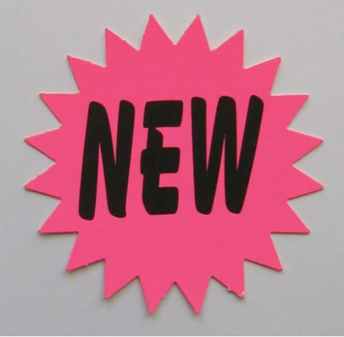 Sign star fluoro new medium asst pk20