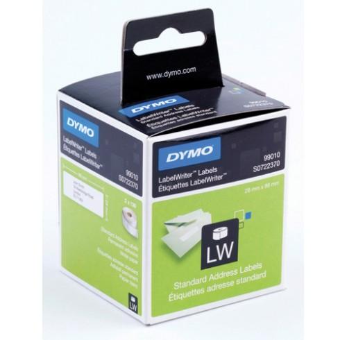 Label dymo labelwriter 54x101 ship white 1 roll