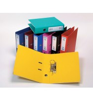Lever arch file A4 Yellow