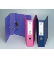 Lever arch file b/tone a4 pink
