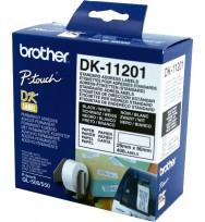 Label brother dk11201 white address 29 x 90mm 400 per roll