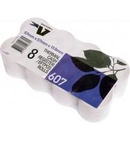Thermal machine rolls 57x57 Paper -  pk8