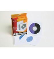 Cd/dvd sleeve c/land aurora holds 1 cd pk50