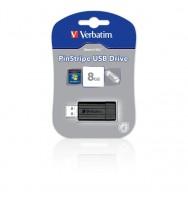 Computer usb drive store 'n' go pinstripe 8gb