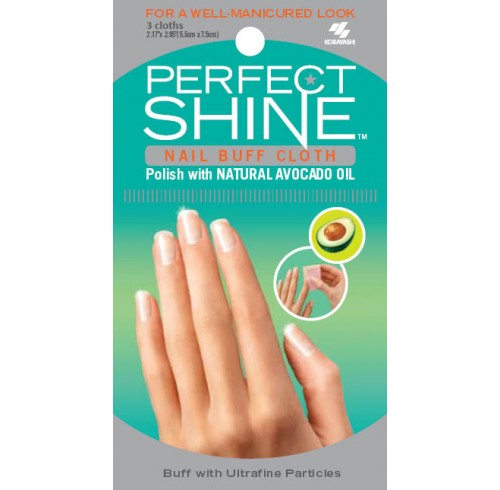 Cloth kobayashi nail buff with avocado pack 3