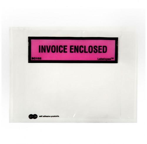 Labelope quik stik invoice enclosed bx500