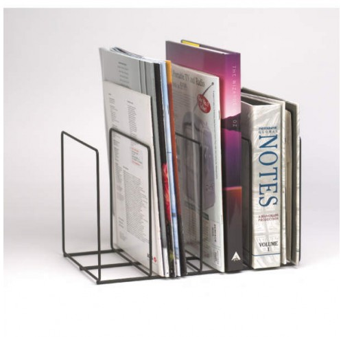 Magazine rack marbig black wire