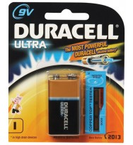 Battery duracell alk 9v bp1